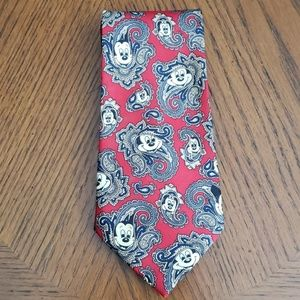 Vintage Mickey Mouse  Bigss red tie